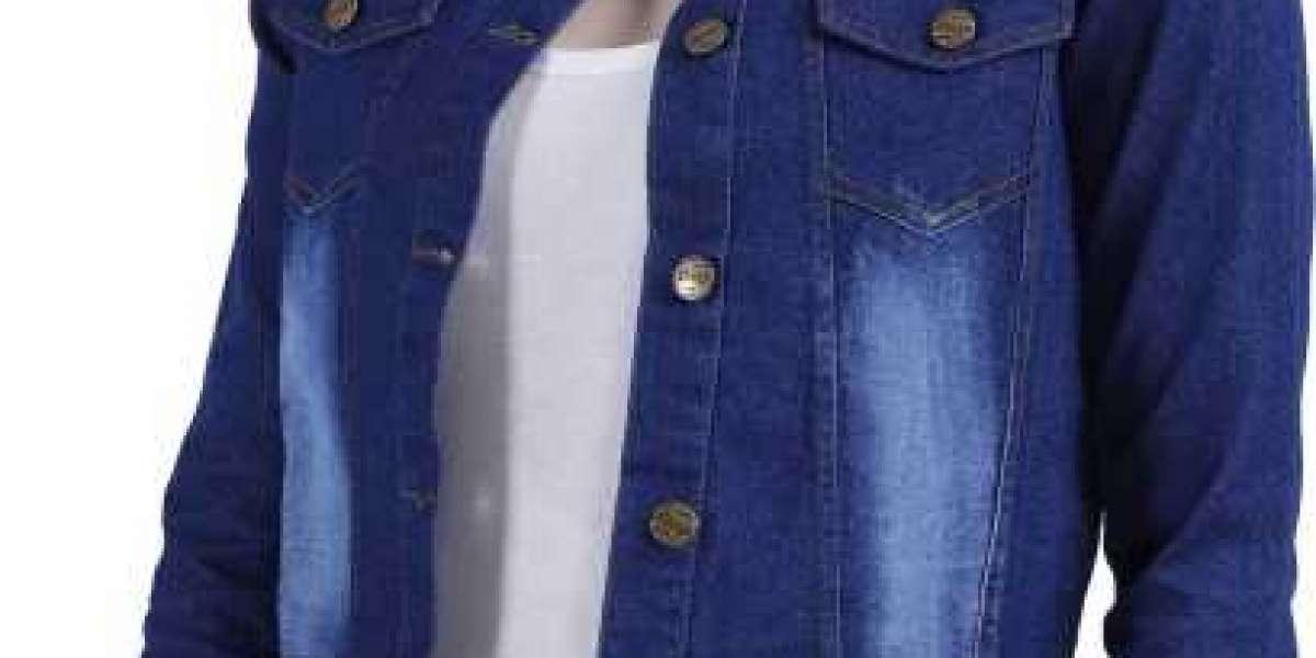 MONU INTERNATIONAL Full Sleeve Solid Women Denim Jacket ₹ 375